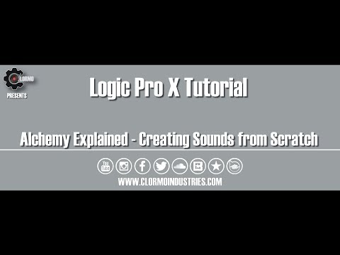 Logic Pro X - Creating Sounds from Scratch in Alchemy (Tutorial)