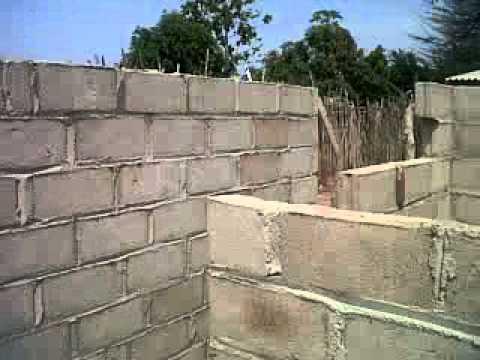 Mi casa en bloques etapa 1 youtube for Como puedo pintar mi casa
