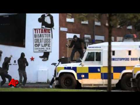 Nireland: Belfast Wracked by 2nd Night of Riots
