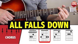 Download Alan Walker - All Falls Down Guitar Tutorial CHORDS