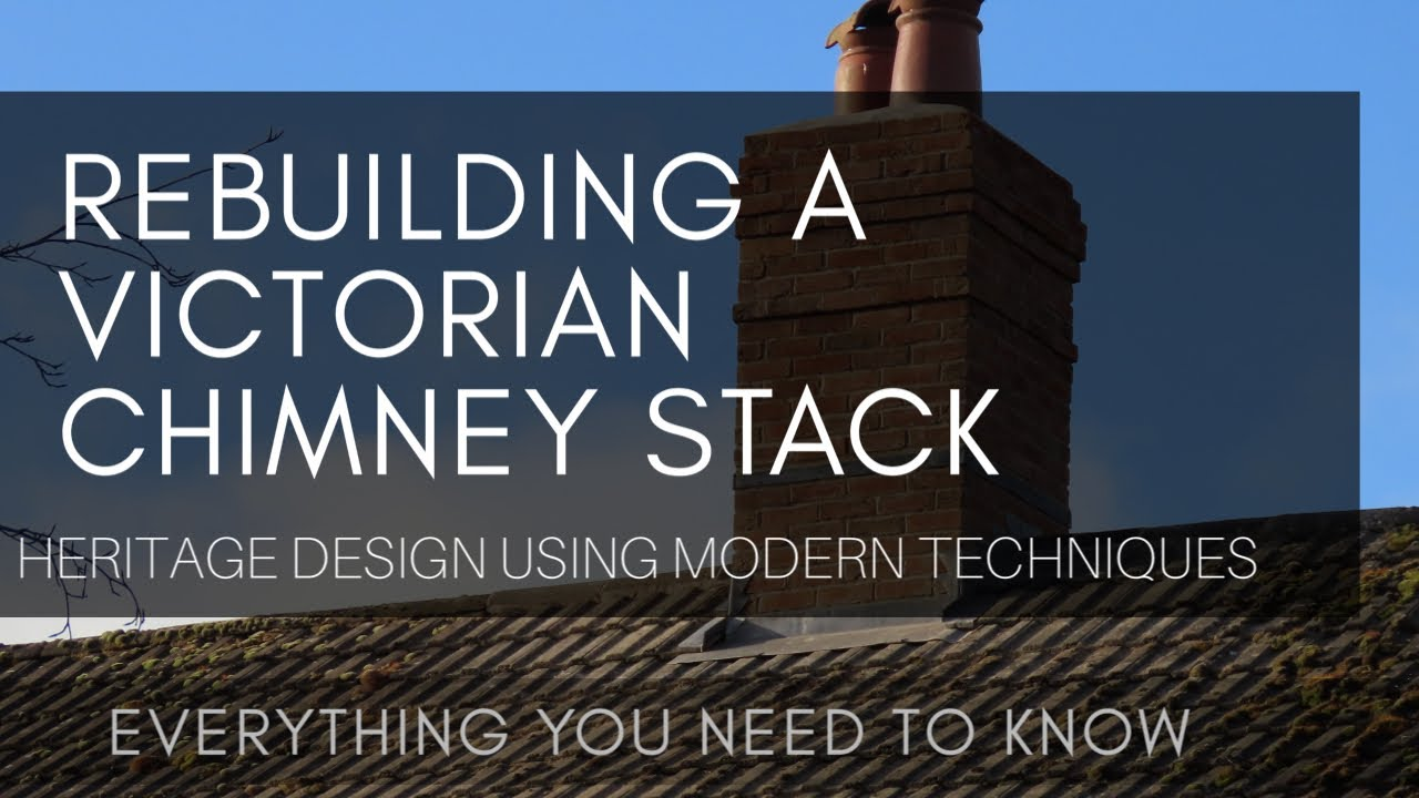 Our Victorian Farmhouse Chimney Gets Rebuilt Period Style Youtube