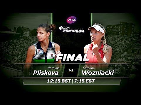 2017 Aegon International Final Preview | Karolina Pliskova vs Caroline Wozniacki