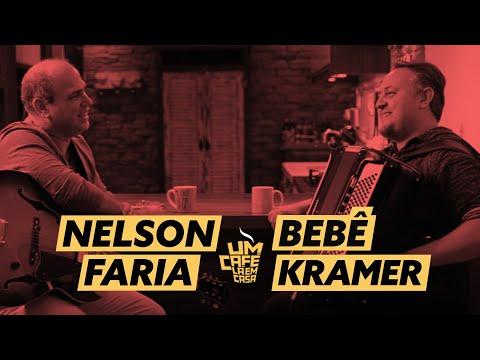 Um Café Lá em Casa com Bebê Kramer e Nelson Faria