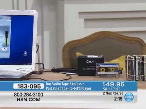Ion Audio Tape Express + Portable Tape-to-MP3 Player/Converter