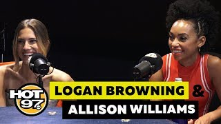 Logan Browning & Allison Williams On Cancel Culture, Lena Dunham + \'The Perfection\'