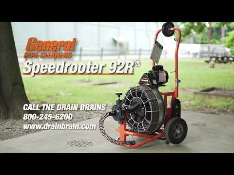 Speedrooter 92 Clear Tree Roots And Tough Stoppages Doovi