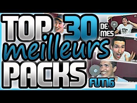 Top 30 des + beaux packs FUT16 Mon best-of pack opening !