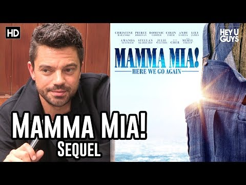 Dominic Cooper on returning to Mamma Mia 2 (Mamma Mia! Here We Go Again)