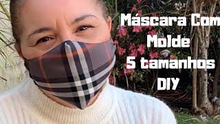 Máscara Com Elástico Regulável