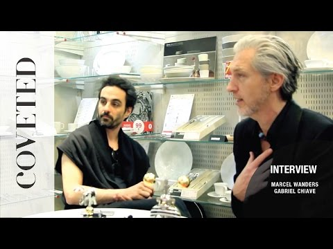 Exclusive interview with Marcel Wanders and Gabriel Chiave -  Circus collection