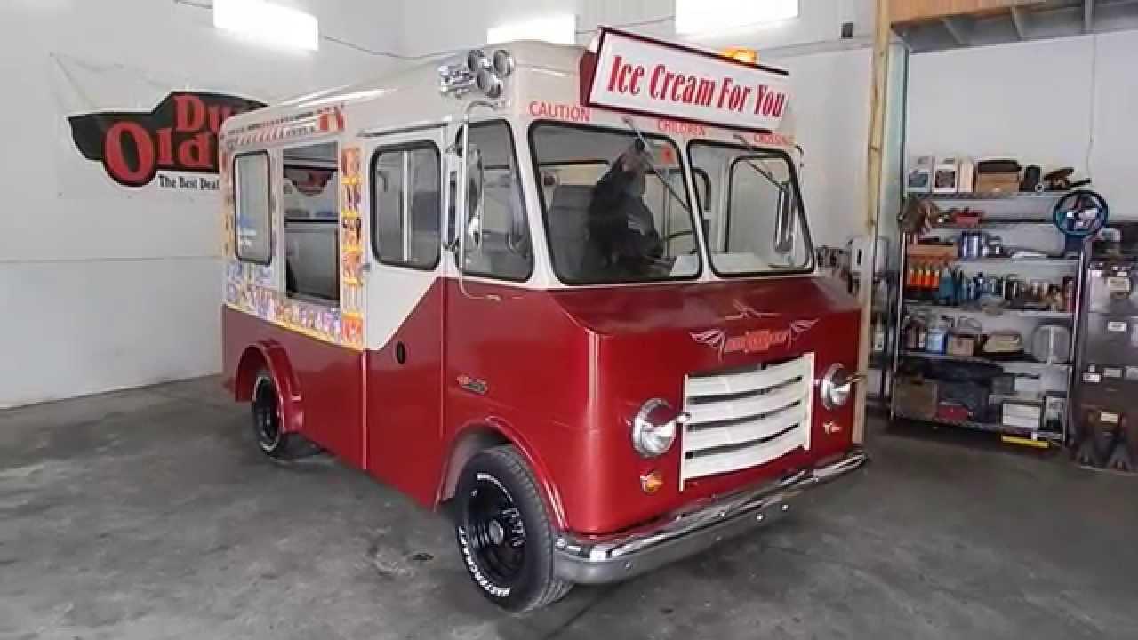 Dustyoldcars Com 1965 Chevrolet P 10 Step Van Ice Cream Sn