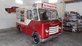DustyOldCars.com 1965 Chevrolet P 10 Step Van Ice Cream SN 901