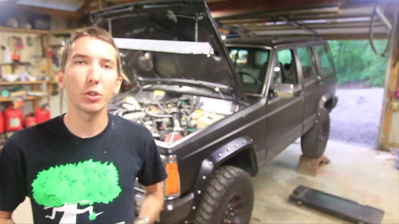 1997 Jeep Wrangler Wiring Diagram How To Change Your Fuel Filter Tune Up Item 1 Youtube