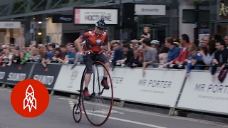 Penny Farthing Racing is Still a Thing