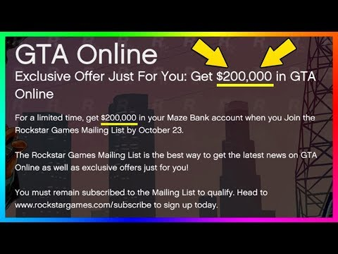 ROCKSTAR GIVING OUT FREE MONEY IN GTA 5 ONLINE - GET YOURS BEFORE IT'S TOO LATE! (GTA 5)