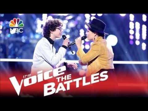 Braiden Sunshine of #teamgwen on The Voice on NBC interview on 97.7 wcty fm