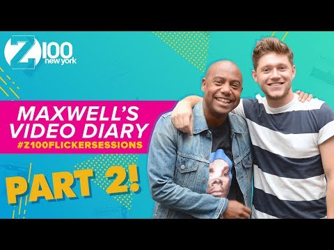 Go Inside Niall Horan's London Flicker Sessions with Maxwell