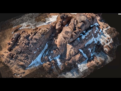 5th Test with the Mavic. More Photogrammetry...