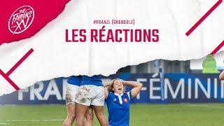 France – Nouvelle Zélande féminines : Les réactions
