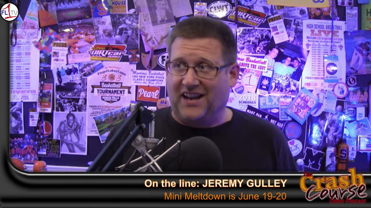Crash Course #360: Gulley, Newcomb (PODCAST)