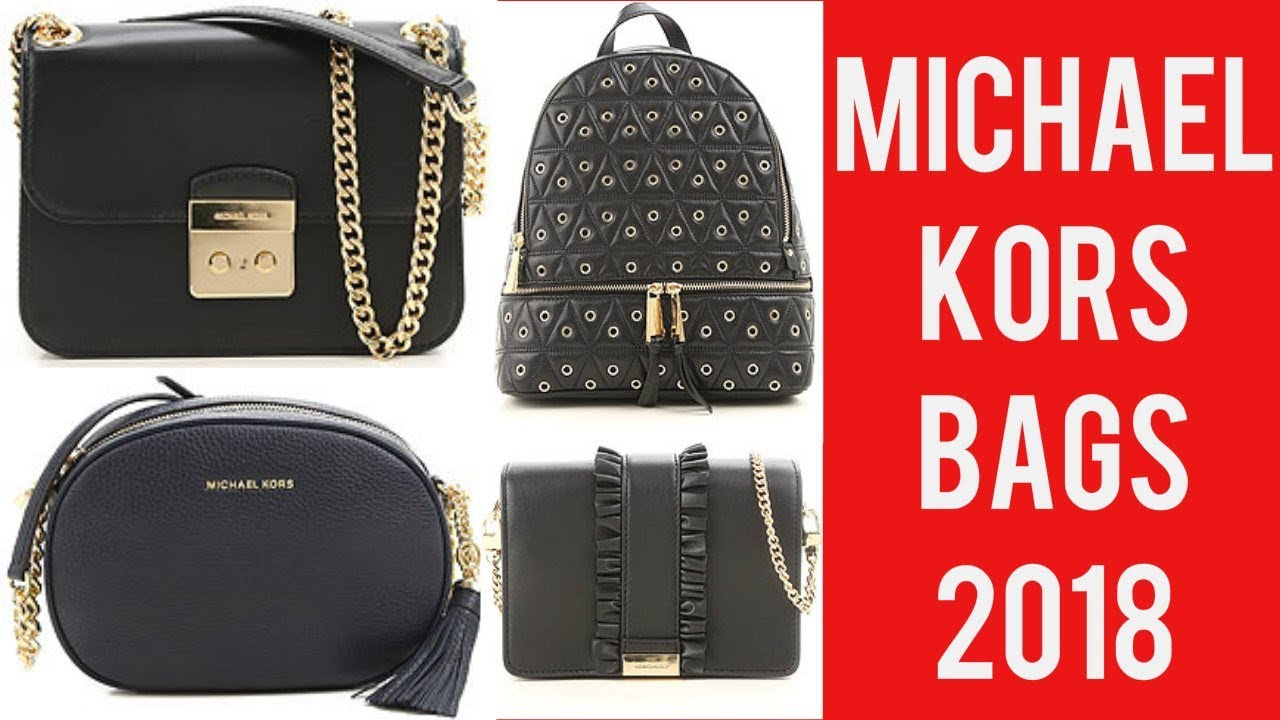 where to buy utterly stylish huge inventory Michael Kors 2018 Bags Collection - YouTube