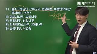 [에듀피디] 산림기능사 CBT 기출복원문제 제3회 정답…