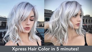 Xpress Hair Color in 5 minutes!