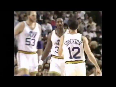Karl Malone - Jazz vs Suns - 11/2/90 (Tokyo, Japan)