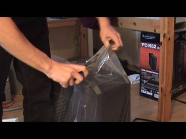 Lancool PC-K62 Unboxing
