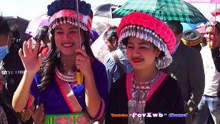 2017-18 Hmoob Xeev Khuam Noj Peb.  Hmong Lao New Year day 1.