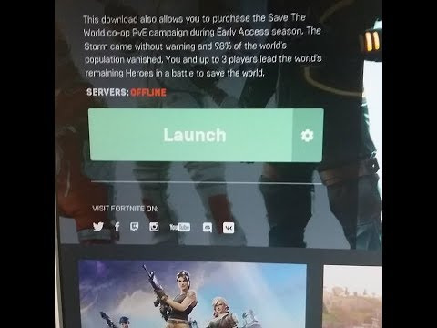 Can you play fortnite save the world offline