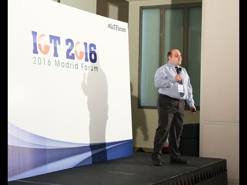 "IOT 2016 MADRID FORUM: ATOS- ""IoT from experiments to industrialization: Electric Vehicles """