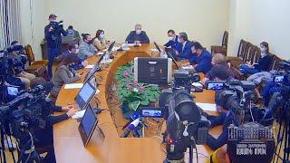 ՀՀ ԱԺ պաշտպանության և անվտանգության հարցերի հանձնաժողովի նիստը՝ ուղիղ