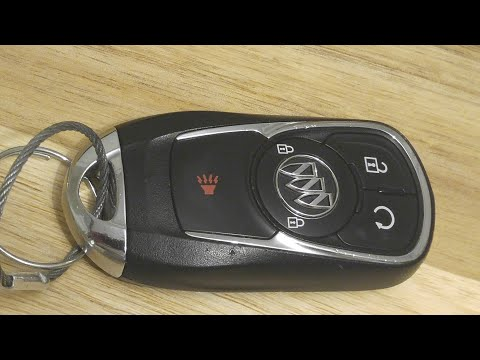 Buick Enclave / Encore Keyless Smart Key Fob Battery Replacement – DIY