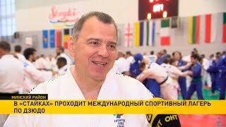Международный лагерь по дзюдо в «Стайках» принял 300 спортсменов из 19 стран
