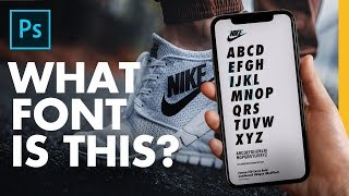 How to Identify any Font Anywhere you Find it   Adobe Photoshop