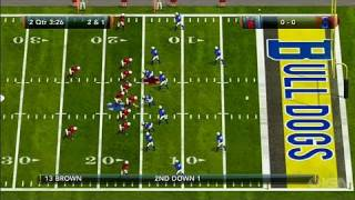 Tecmo Bowl Throwback Xbox Live Gameplay - Getting Closer