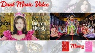 Gambar cover JKT48 & AKB48 Dirimu Melody - Kimi wa Melody [君はメロディー]