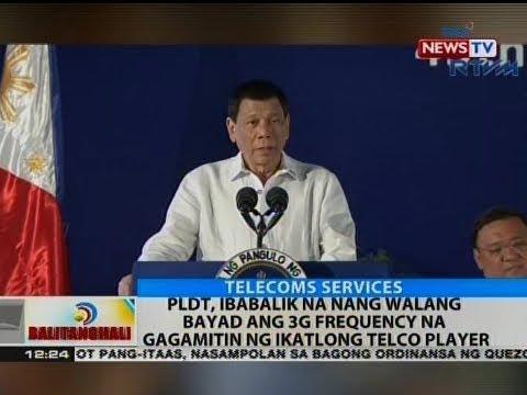 BT: PLDT, ibabalik na nang walang baayad ang 3G frequency na gagamitin ng ikatlong telco player