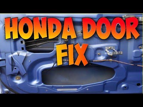 Honda Fit Stuck Rear Door Trunk Hatch Latch Doovi