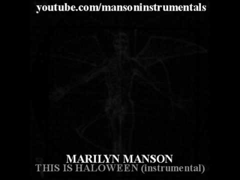 Marilyn Manson - This Is Halloween (instrumental)