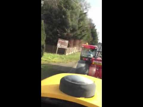 Tractor boy piss take