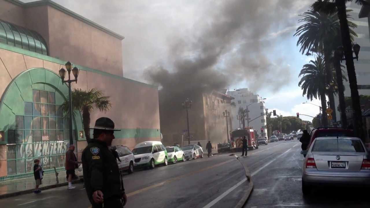 Santa Monica Apartment Fire (Part 1) - YouTube