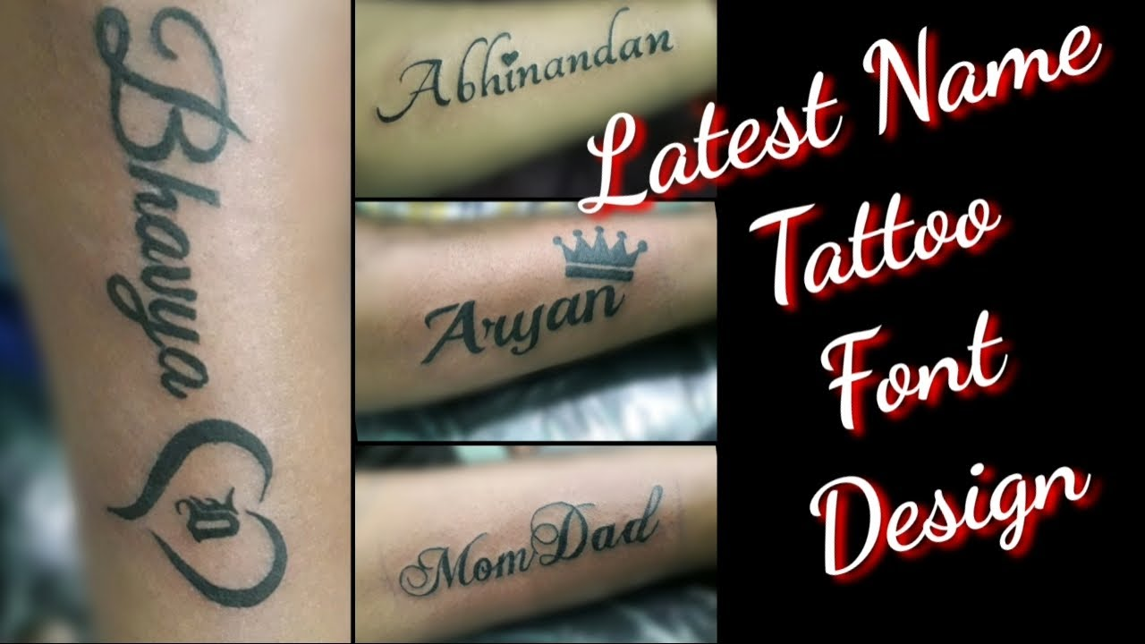 Name Tattoo Design On Hand Latest Tattoo Font Design Letters Tattoo Youtube Name tattoos for girls, men & women. name tattoo design on hand latest tattoo font design letters tattoo