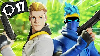 Teaming up with Lachlan in Fortnite Duos