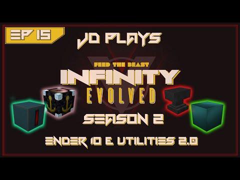 Ender IO & Utilities 2.0 - FTB Infinity Evolved Expert Let's Play E.15