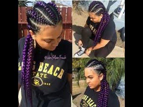 Best Jumbo Cornrow Hairstyles For Black Women