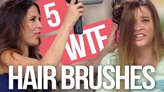 5 Weirdest Hair Brushes