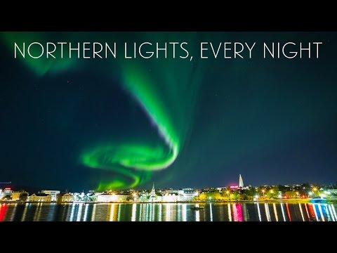 Living in Iceland - Northern Lights, Every Night (Week 33) | Sonia Nicolson