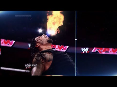 Roman Reigns Custom WWE Entrance Video (Titantron)